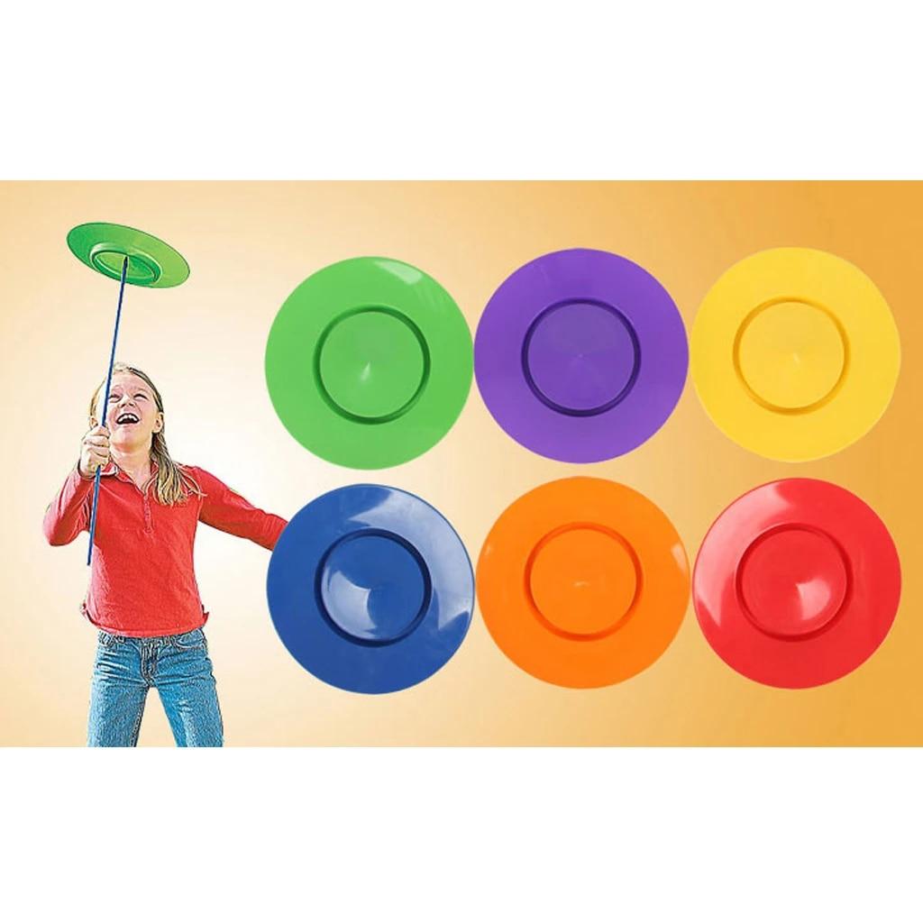Juego De 6 Platos Giratorios Palos Payaso Malabares Niños Equilibrio Juguete Truco De Magia Juguetes Clásicos Para Niños Regalo Divertido Suministros Para Juegos B Toys Toys Fortoys For Children Aliexpress