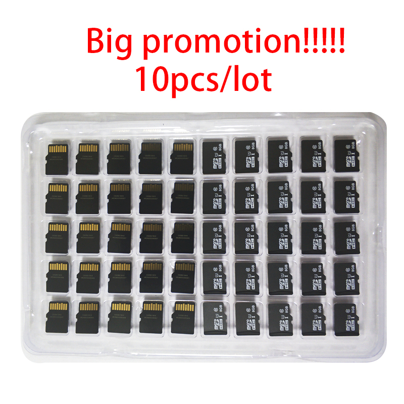 Big Promotion!!!10pcs/lot 1GB 2GB 4GB 8GB Microsd Card 64MB 128MB 256MB 512MB TF Card Micro SD CellPhone Memory Card Memory Card