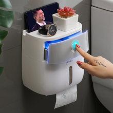Водонепроницаемый держатель для туалетной бумаги настенный бумажных