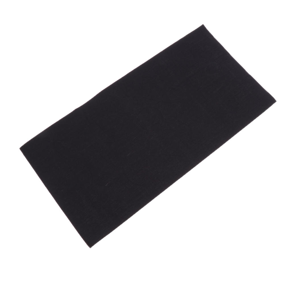 3 Pieces Washable Self-adhesive Nylon Repair Patch Kit For Jackets Air Mattress Raincoat Black Backpacking