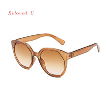 Fashion Gradual Sunglasses Women UV400 Men Glasses New Eyeglasses 2019