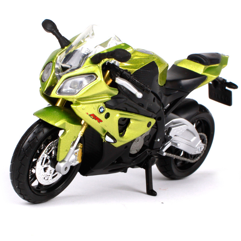 Maisto 1/18 1:18 Scale BMW S 1000 RR Motorcycles Motorbikes Diecast Display Models Birthday Gift Toy For Boys Kids