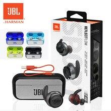 Yeni orijinal JBL yansıtıcı akış gerçek kablosuz spor kulaklıkları TWS Bluetooth IPX7 su geçirmez ter geçirmez kulakiçi mikrofonlu kulaklık