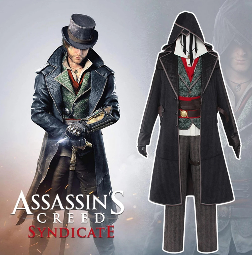 Uwowo Jacob Frye Cosplay Assassin S Creed Syndicate Anime Cosplay