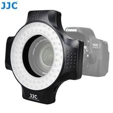 JJC фото/Студия DSLR видео вспышка камера Speedlite лампы кольцевой светильник светодиодный макро для Nikon/Canon/sony/Pentax/samsung/Olympus/Fuji
