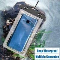 Funda de teléfono impermeable para Iphone, Samsung, Xiaomi, natación, bolsa seca, funda subacuática, bolsa para teléfono móvil