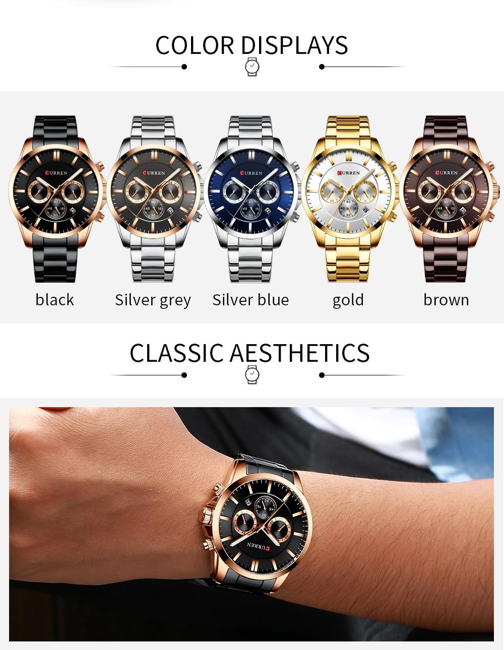 curren 8358 Watch Men