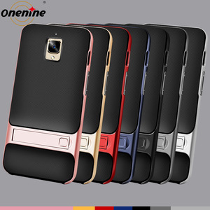"""Image 2 - Phone Cover for Oneplus 3 One Plus 3T Cases and Covers 5.5"""" PC TPU Silicone Hybrid 360 Protective OnePlus3T Back Armor Housing"""