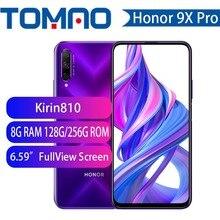 Смартфон Honor 9x 9x pro, Восьмиядерный процессор Kirin 810, полноэкранный дисплей 6,59 дюйма, двойная камера 48 МП, 4000 мАч, графический процессор Turbo моби...