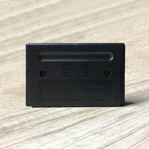 Image 2 - باطني مقاتلة USA تسمية Flashkit MD للكهرباء الذهب PCB بطاقة ل سيجا جينيسيس Megadrive من فيديو لعبة وحدة
