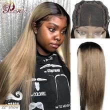 Perruque Lace Front Wig Remy naturelle péruvienne lisse – Pinshair, cheveux humains, perruque Lace Front Wig, couleur grise, 4*4, perruque Blonde, 130%