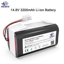 Aspirateur Robot Chuwi, batterie Li-ion Rechargeable, 14.8V, 3200mAh, pour ILIFE ecovacs A4s, A4, A6, A9, V7, V7s, V7s Pro robotique