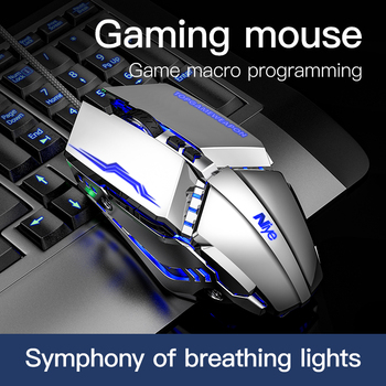 Ergonomic Gaming Mouse 7 Keys DPI Adjustable Wired Mouses For PC Computer Laptop Mice with Led Light Not Bluetooth Mouse Gamer