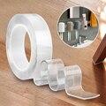 5 м Двусторонняя NanoTape многоразовые Водонепроницаемый прозрачной клейкой NoTrace сильный клей самоклеющиеся ленты бытовой Кухня автомобиля