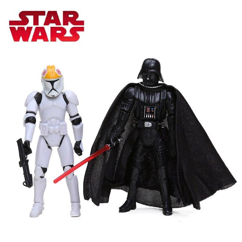 Star Wars jouets 10cm CLONE TROOPERS commandant ANAKIN SKYWALKER dark vador PVC figurine Collection modèle poupée cadeaux pour garçon