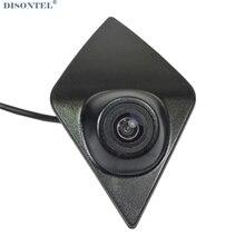 DISONTEL цветной ПЗС Sonyccd HD ночное видение вид спереди Логотип Embeded камера для Renault Koleos/KADJAR