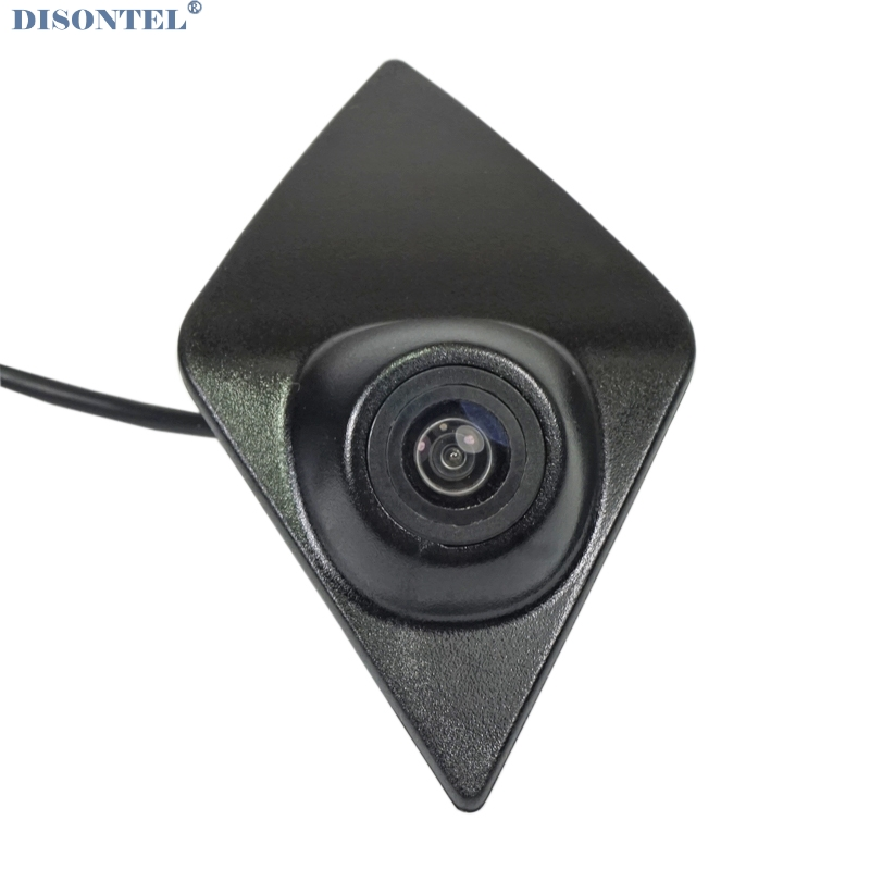 DISONTEL Color CCD Sonyccd HD Night Vision Front View Logo Embeded Camera For Renault Koleos / KADJAR 2016 2017