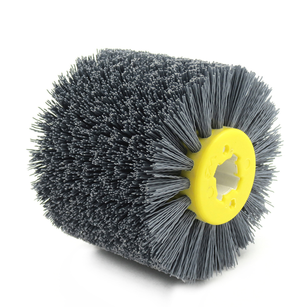 Fine Quality Abrasive Wire Polishing Grinding Wheel Derusting Wheel Electric Brush For Woodworking Metalworking