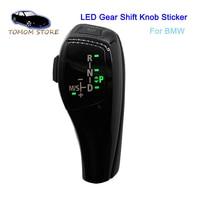 For BMW E39 E53 E46 E60 E61 E90 E92 E93 E87 E83 X3 LED car manual gear stick shift knob automatic LHD shift lever knob