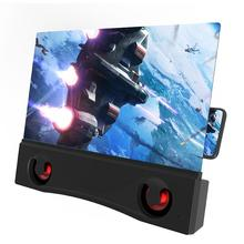 Projector For Cell Phone 3D HD Projector Screen Smartphone Screen Amplifier Projector For Cell Phone