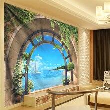 3D Wall Hanging Boheme Mandala Tapestry Flowers Vine Beach Hippie Tapestry Sea Wall Hanging Dorm Decor Living Room Art Gobelin wall hanging art window sea view print tapestry