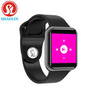 Reloj inteligente Bluetooth serie 4 SmartWatch para Apple iOS iPhone Xiaomi Android teléfono inteligente samsung Apple Watch (rojo botón)