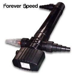 Lámpara Germicida UV UVC 55w serie piscina CUV-155 germicida Filtro de lámpara clarificador de agua esterilizador de la nave de la gota para Siempre la velocidad