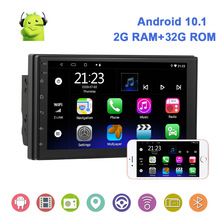 Universal 2 32G Android 10.0 autoradio autoradio navigazione GPS WIFI 2Din 7 ''Touch Screen lettore MP5 Bluetooth RDS Carplay