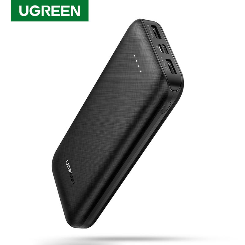 Ugreen Power Bank 20000mAh External Mobile Battery Charger Portable Fast Phone Charger for Samsung S10 iPhone 8 Mini Poverbank|Power Bank| - AliExpress