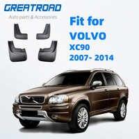 Pour VOLVO XC90 2007-2014 Bavettes 2008 2009 2010 2011 2012 2013 Avant Arrière Voiture garde-boue Garde-Boue Boue Garde-Boue Garde-Boue