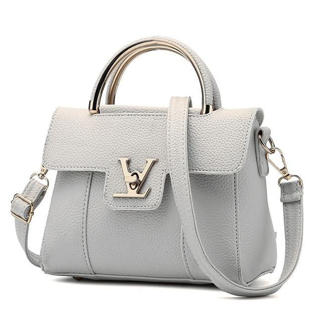 حقائب النساء بولي Leather حقائب كتف متنقلة جلدية سيدة حقائب اليد عالية الجودة موضة حقيبة الإناث حقائب كروسبودي للنساء 2020