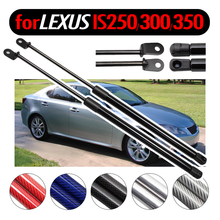 Lift Supports for Lexus IS F IS250 IS350 IS300 2005-2015 Gas Struts Shocks Absorber Rear Boot Tailgate Damper fit 06 13 lexus is250 is350 4dr in s style poly urethane rear bumper lip