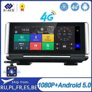 E-ACE e01 carro dvr gps 4g, navegação rastreador 7