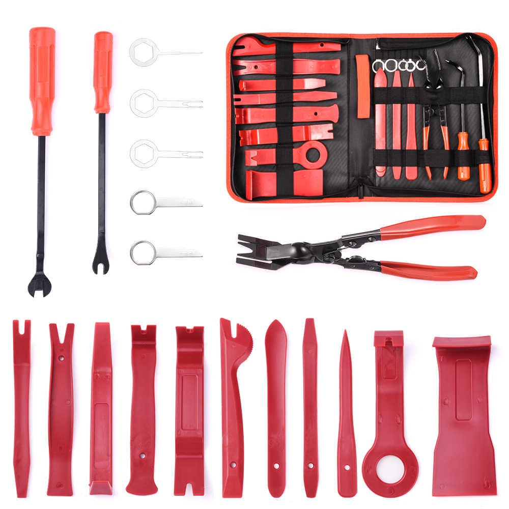 Details about  /4x Car Removal Open Tools Kit Radio Audio Trim Dash Panel Installer For Honda