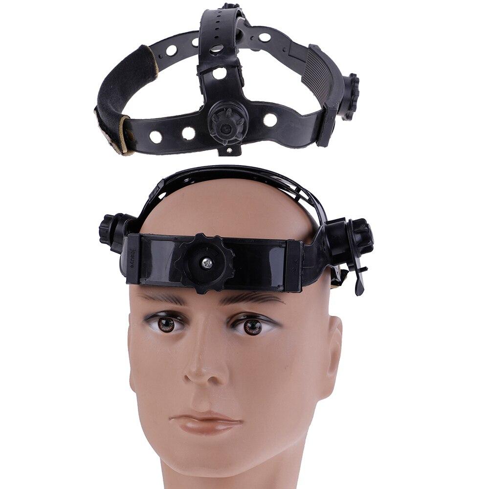 Black Adjustable Welding Welder Mask Headband Solar Auto Dark Helmet Accessories