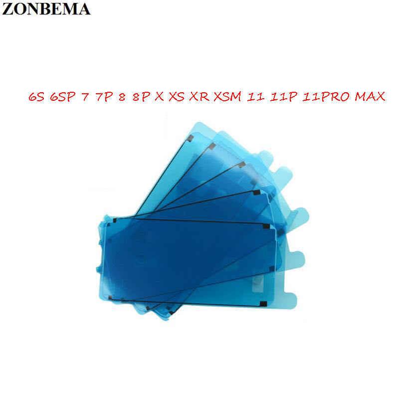 5 قطعة LCD الإطار الحافة ختم الشريط الغراء لاصق 3M إصلاح أجزاء للماء لاصق ملصقا لفون 11 X XS ماكس XR 6S 7 8 زائد