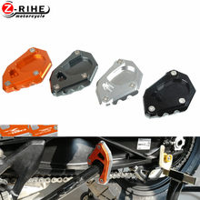 Aluminum Motorcycle Accessories Sidestand Kickstand foot Support Side Stand Enlarge For KTM 790ADVENTURE 790 ADVENTURE 2019-(China)