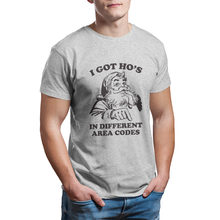 I Got Ho's In Different Area Codes Funny Christmas T-Shirt wholesale Couples Matching Punk Cute 4XL 5XL 6XL T-shirt 12964