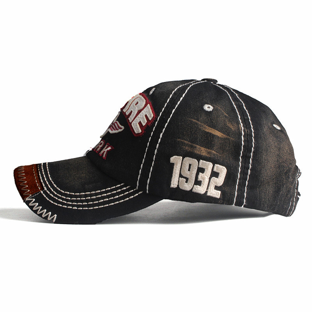New baseball caps for men embroidery casual hip hop cap