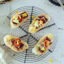 Heizkörper Rack Tisch Matte Halterung Wärmedämmung Topf Pad Kuchen Cookies Backen Eisen Silber grau Lebensmittel Fotografie Requisiten