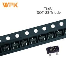 Transistor Voltage-Regulator Electronic-Components TL431 SOT-23 50pcs 432 36V Triode