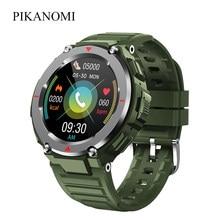 Novo esporte masculino relógio inteligente s25 chamada bluetooth música jogar ip67 ao ar livre smartwatch ouvir monitor de taxa relógio de pulso feminino android ios