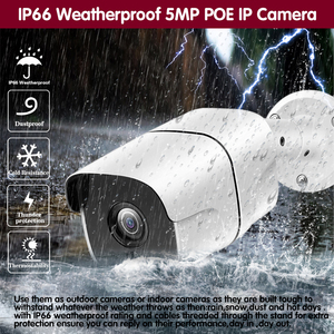 Image 5 - وجه AI H.265 8CH 5MP HD POE طقم NVR CCTV نظام الأمن اتجاهين الصوت AI IP كاميرا في الهواء الطلق P2P مجموعة مراقبة الفيديو 2 تيرا بايت HDD