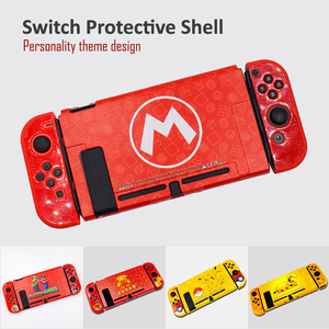 Image 4 - For Nintendo Switch Cute Case Nintend Switch PC Case Protective Housing Thin Shell Skin Colorful NS Switch Accessories