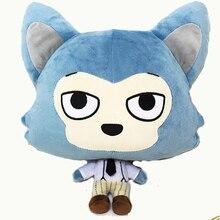 Boneca cosplay de legosi haru, boneca de anime com animais de algodão, de 30cm