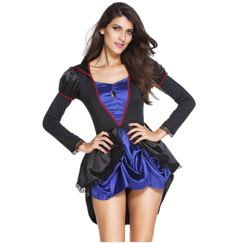 The New Halloween Evil Witch Costume Long
