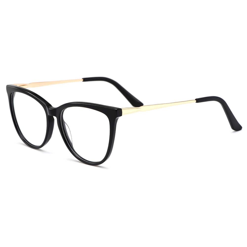 Gmei Optik Mata Kucing Wanita Asetat Bingkai Kacamata Wanita Resep Kacamata Miopia Optik Kucing Mata Kacamata M21001