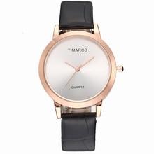 Luxury Men Women Wrist Watch Simple Dial 2019 New Fashion Ladies Quartz Watch Leather Band Clock Present Gift Relogio Feminino