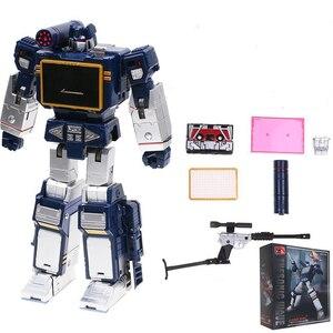 Image 5 - Transformation G1 THF 01J THF01J Soundwave OneเทปWalkman MasterPiece KO MP13อัลลอยด์Oversizeอะนิเมะรูปหุ่นยนต์ของเล่น