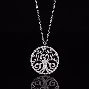 925 Sterling Jewelry Crystal T
